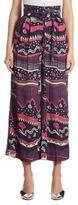 Marc Jacobs Floral-Print Wide Pants