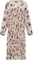 Marni Long Sleeve Tiered Dress