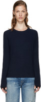 Rag & Bone Navy Cashmere Lilianna Sweater