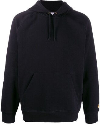 Carhartt WIP logo hooded sweatshirt