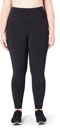Core Products Amazon Brand - Core 10 Women's Onstride Plus Size High Waist Run Legging