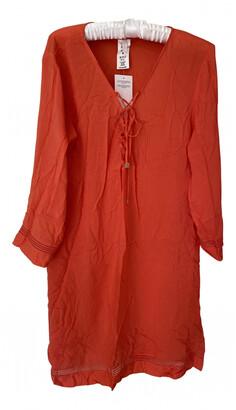 Chantelle red Viscose Dresses