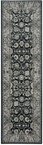 """Nourison Andalusia AND10 Charcoal 2'2"""" x 7'6"""" Runner Rug"""