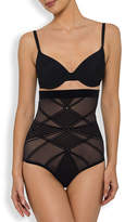 Nancy Ganz Sheer Decadence Shaping High-Waist Briefs