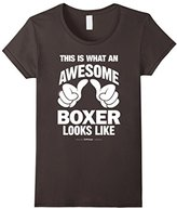 Men's What An Awesome Boxer Looks Like Funny Boxing T-Shirt Small