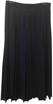 Sportmax Blue Silk Skirt for Women