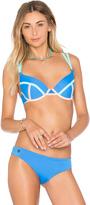 Maaji Cerulean Bauhaus Bikini Top