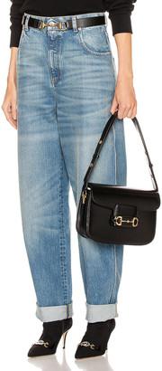 Gucci Loose Jean in Blue   FWRD