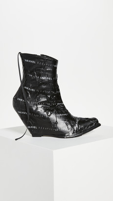 Unravel Project Unrvl Low Boots