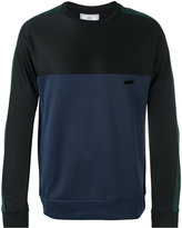 Ami Alexandre Mattiussi paneled sweatshirt - men - Cotton/Polyester - XL