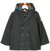 Paul Smith double breasted coat and striped gilet set
