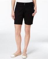 Lee Platinum Petite Chino Bermuda Shorts, A Macy's Exclusive