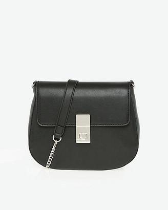 Le Château Faux Leather Flapover Shoulder Bag