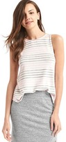 Gap Softspun knit stripe tank