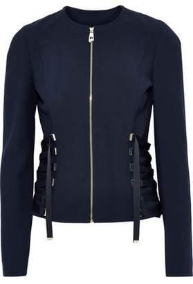 Versace Lace-up Cady Jacket