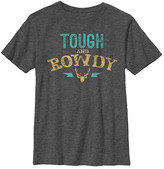 Fifth Sun Boys' Tee Shirts CHAR - Heather Charcoal 'Tough & Rowdy' Tee - Boys