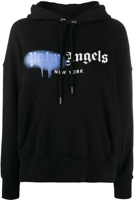 Palm Angels New York Sprayed hoodie