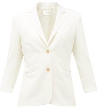 The Row Schoolboy Wool-blend Blazer - Womens - White