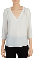 Gerard Darel Charlie Semi-Sheer Top