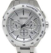 Seiko Saga169 Stainless Steel & Ceramic Solar 44mm Mens Wristwatch