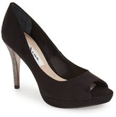 Nina Women's 'Faiza' Crystal Encrusted Platform Sandal