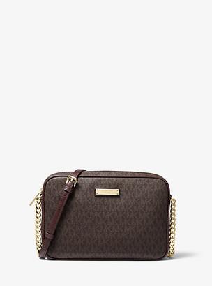 MICHAEL Michael Kors Jet Set Travel Logo Crossbody Bag