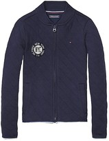 Tommy Hilfiger Final Sale- Th Kids Quilted Zip Sweater