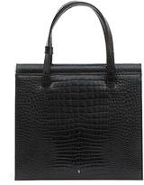 Gu De Trip Stamped Crocodile Shoulder Bag