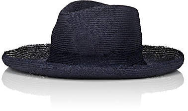 Lafayette House of Women's Galagos Straw Hat - Navy