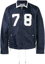 Diesel 78 drawstring detail jacket - men - Polyimide - S