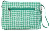 Kalencom Diaper Bag (Houndstooth- Aqua) by