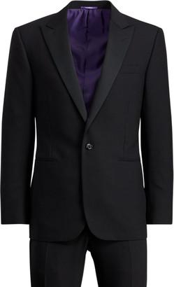 Ralph Lauren Wool Peak-Lapel Tuxedo