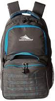 High Sierra Joel Lunch Kit Backpack (Slate/Pool) Backpack Bags