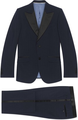 Gucci Fitted mohair wool tuxedo