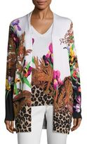 Etro Jungle Printed Cardigan