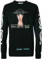 Off-White movie long sleeve T-shirt - men - Cotton - XS