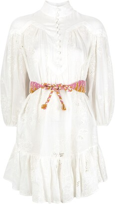 Zimmermann Riders embroidered dress