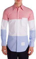 Thom Browne Three-Panel Cotton Shirt