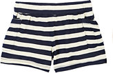 Anthem of the Ants STRIPED SEA SHORTS-NAVY SIZE 3