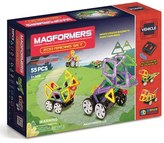 Boy's Magformers 'Zoo Racing' Magnetic Remote Control Vehicle Construction Set