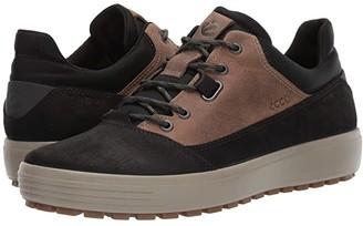 Ecco Sport Sport Soft 7 Tred Terrain Hydromax Low (Black/Black) Men's Shoes