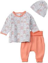 Petit Lem Girls' Baby 3Pc Pant Set