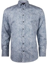 Jeff Banks Aop Paisley Casual Slim Fit