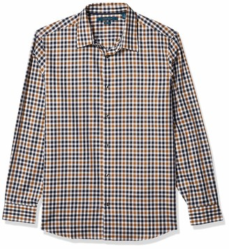 Perry Ellis Men's Multi Check Shirt