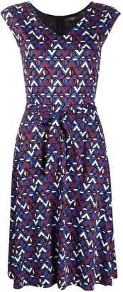 Max Mara Printed Tea Dress