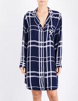 Rails Checked woven sleep shirt