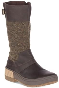 Merrell Women's Haven Buckle Waterproof Boots Women's Shoes