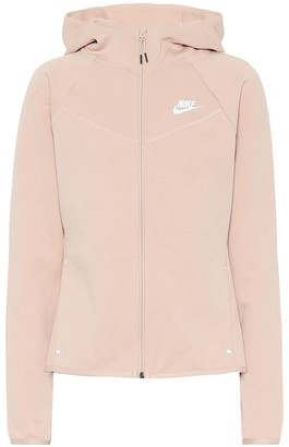 Nike Windrunner cotton-blend hoodie