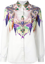 Etro printed shirt - women - Cotton/Spandex/Elastane - 40