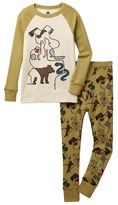 Tea Collection Oji Zoo Fitted 2-Piece Pajama (Toddler, Little Boys, & Big Boys)